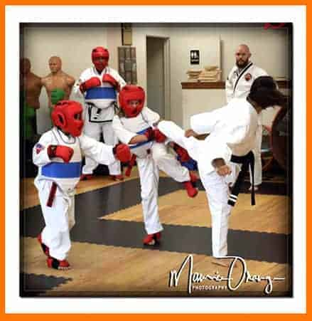 Sparring At Sidekicks