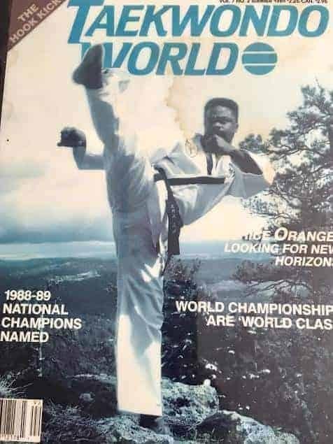 GMO Sidekick Taekwondo World Magazine