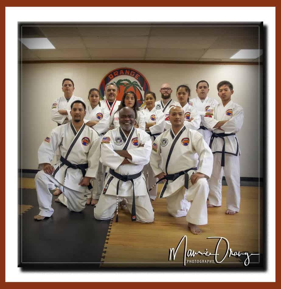 Grandmaster Orange Sidekicks Vision Inclusive Leadership for all Martial Arts Students