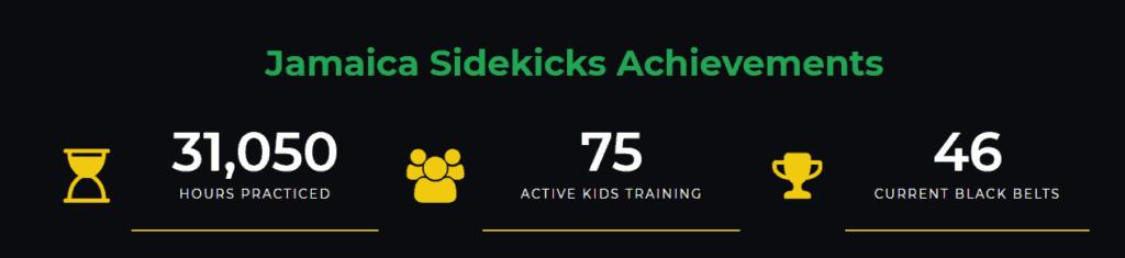Jamaica Sidekicks Achievements
