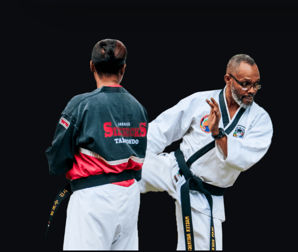 Master McDowell Kicking