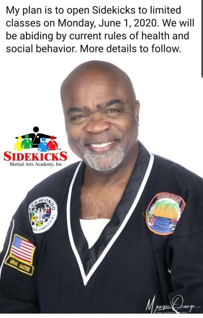 Sidekicks Reopen Plans June 1 2020